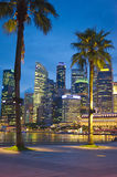 Quayside of Singapore Stock Photos