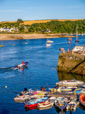 Cornish Quayside Stock Photo