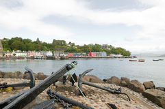 The quayside at tobermory Royalty Free Stock Images