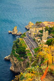Quayside of the town Taormina Stock Photography