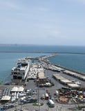 Quayside trading port Stock Photos