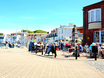 Quayside, Weymouth, Dorset. Royalty Free Stock Image