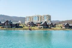 Quba - 26 de marzo de 2015: Hotel de Quba Rixos en marzo Fotografía de archivo libre de regalías