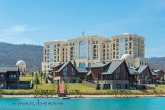 Quba - 26 de marzo de 2015: Hotel de Quba Rixos en marzo Foto de archivo