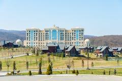 Quba - 26 de marzo de 2015: Hotel de Quba Rixos en marzo Fotos de archivo libres de regalías