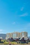 Quba - 26 de marzo de 2015: Hotel de Quba Rixos en marzo Foto de archivo libre de regalías