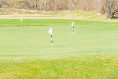 Quba - 26. März 2015: Golfplatz bei Quba Rixos stockbild