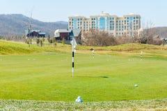 Quba - MARCH 26, 2015: Golf Course at Quba Rixos Stock Photo