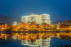 Quba - MARCH 26, 2015: Quba Rixos Hotel on March. 26 in Azerbaijan, Quba. Quba Rixos Hotel is luxury hotel in northern Azerbaijan Stock Photo