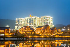 Quba - MARCH 26, 2015. Quba Rixos Hotel on March 26 in Azerbaijan, Quba. Quba Rixos Hotel is luxury hotel in northern Azerbaijan Royalty Free Stock Photography