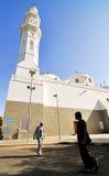 Quba Moschee stockfoto