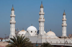Quba-Moschee in Al Madinah, Saudi-Arabien Stockbild