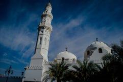 Quba-Moschee bei Medina stockfotografie