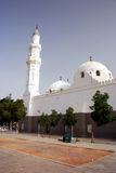 Quba Mosque. In Saudi Arabia (one of the most famous mosque for muslim Royalty Free Stock Image