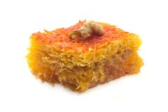 Quba Pakhlava. On a white background Royalty Free Stock Photos