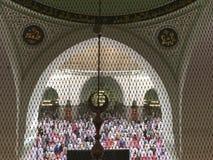 Qubaa moské Royaltyfri Foto
