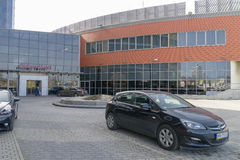Qubus hotell Royaltyfria Foton