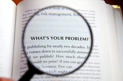 Que é seu problema? Fotos de Stock Royalty Free