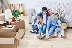 Que apartamento novo maravilhoso fotografia de stock