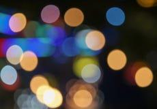` Que brilla n de la Navidad de Bokeh Foto de archivo libre de regalías