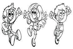 Que colorea ` de la serie del niño del deporte del ` de la página libre illustration
