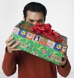 Que está na caixa? Fotografia de Stock Royalty Free