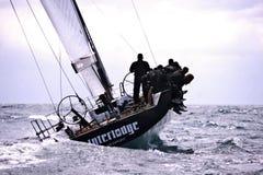 40º que navega a Trophy Conde de Godo Foto de archivo libre de regalías