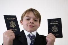 Que passaporte a se usar Fotos de Stock Royalty Free