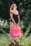 Que por um dia bonito no início de minhas férias de verão Imagens de Stock Royalty Free