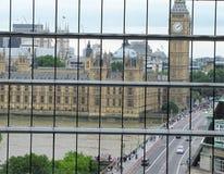 Que ` s o tempo em Big Ben em Londres, Inglaterra? Fotografia de Stock Royalty Free