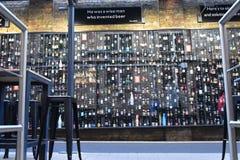 Que você bebe em Bélgica? fotografia de stock