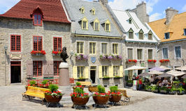 Quebec Royalty Free Stock Photo