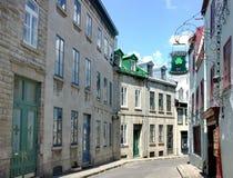 Quebec lizenzfreie stockbilder
