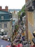 Quebec canada stock images