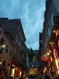 Quebec canada stock image