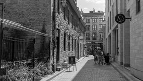 Old Montreal, Canada - June 2017, Street photography Stock Image