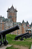 Quebec Castle Royalty Free Stock Image