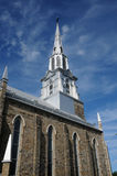 Quebec, the church of Rimouski Royalty Free Stock Photo