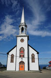 Quebec, church of Saint Maurice de l echouerie Stock Image