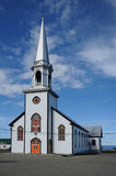 Quebec, church of Saint Maurice de l echouerie Royalty Free Stock Photos