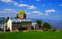 Quebec City royaltyfri foto