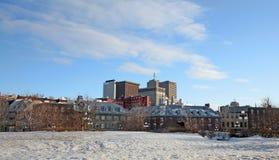 Quebec City Fotografia Stock Libera da Diritti