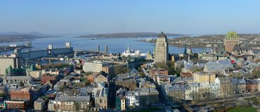 Quebec City Royalty Free Stock Image