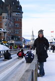 Quebec city Stock Photography