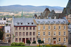Quebec City Buildings Royalty Free Stock Photos