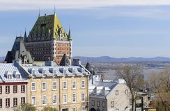 Quebec City Buildings Stock Image