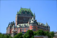 Quebec city, Canada Royalty Free Stock Photography