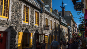 Quebec City, Canada, Street photography Stock Photography