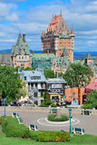 Quebec City cityscape Royalty Free Stock Photo