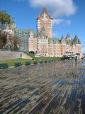 Quebec City duschar Fotografering för Bildbyråer